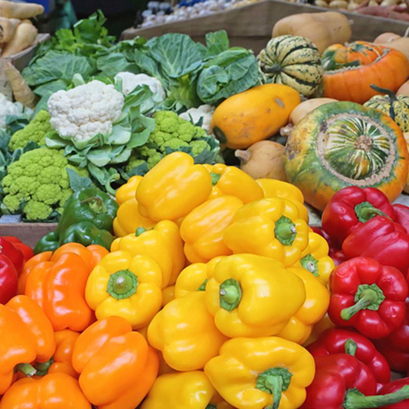 Gemüsehaendler Markt